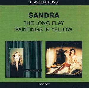 Cover - Sandra: Long Play / Paintings In Yellow, The