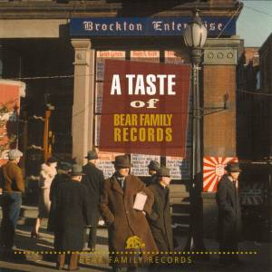 Cover - Wynn Stewart: Taste Of Bear Family Records, A
