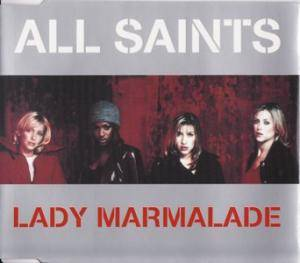 All Saints: Lady Marmalade - Cover