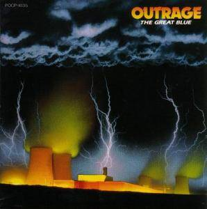 Outrage: Great Blue, The - Cover