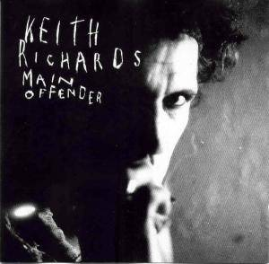 Keith Richards: Main Offender - Cover