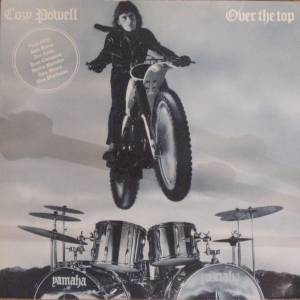 Cozy Powell: Over The Top - Cover