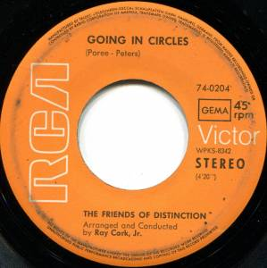 Cover - Friends Of Distinction, The: Going In Circles