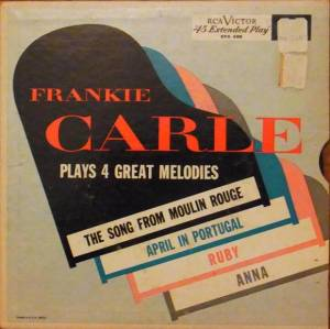 Cover - Frankie Carle: Plays 4 Great Melodies