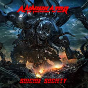 Annihilator: Suicide Society - Cover
