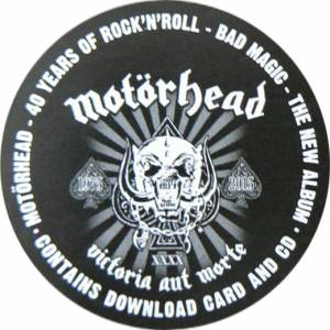 Motörhead: Bad Magic (LP + CD) - Bild 7