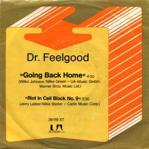 Cover - Dr. Feelgood: Going Back Home