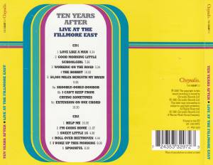 Ten Years After: Live At The Fillmore East (2-CD) - Bild 4