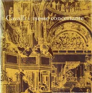 Cover - Francesco Cavalli: Messe Concertante