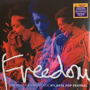 The Jimi Hendrix Experience: Freedom: Atlanta Pop Festival - Cover