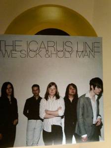 Cover - Icarus Line, The: We Sick/Holy Man