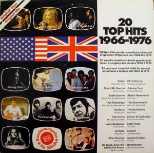 Cover - Rainbows, The: 20 Top Hits 1966-1976