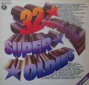 Cover - Gitte & Rex Gildo: 32 Deutsche Super Oldies