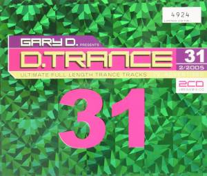 Cover - Cosmic Culture: Gary D. Presents D.Trance 31