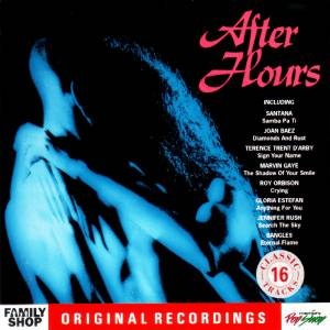 Cover - Dan Fogelberg: After Hours