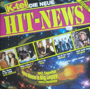 K-Tel Hit-News - Die Neue - Cover