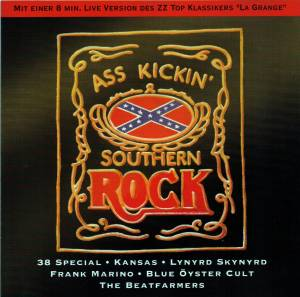 Cover - Frank Marino: Ass Kickin' Southern Rock