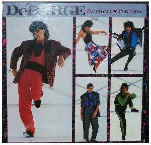 Cover - DeBarge: Rhythm Of The Night
