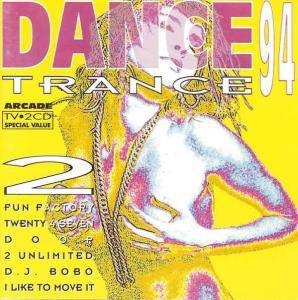 Dance Trance 2 - Cover