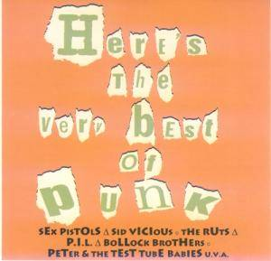 Here's The Very Best Of Punk - Cover