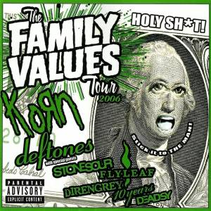 Family Values Tour 2006, The - Cover