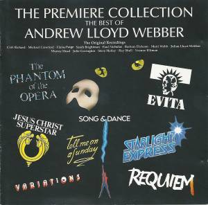 Cover - Andrew Lloyd Webber: Premiere Collection - The Best Of, The