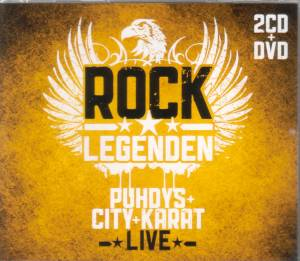 Cover - Puhdys + City + Karat: Rock Legenden Live