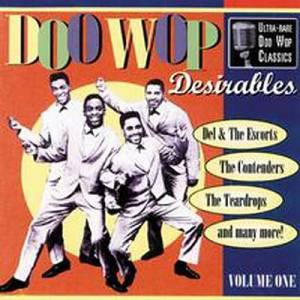 Cover - V Eights: Doo Wop Desirables Volume One