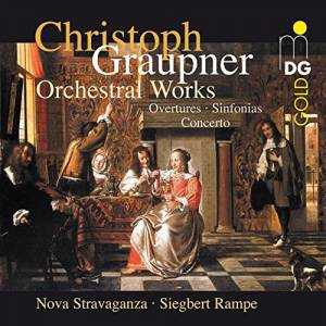 Cover - Christoph Graupner: Orchestral Works Vol. 1
