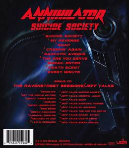 Annihilator: Suicide Society (2-CD) - Bild 2