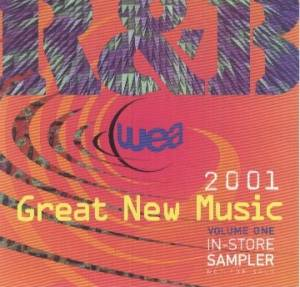 wea 2001 Great New Music Vol. I R&B - Cover