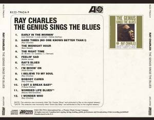 Ray Charles: The Genius Sings The Blues (CD) - Bild 3