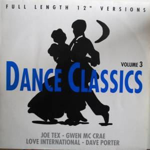 Cover - David Porter: Dance Classics Volume 3