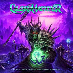 Gloryhammer: Space 1992: Rise Of The Chaos Wizards - Cover