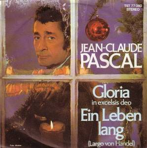 Cover - Jean-Claude Pascal: Gloria In Excelsis Deo