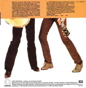 "Nick Lowe & Dave Edmunds: Sing The Everly Brothers (7"") - Bild 2"