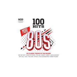 100 Hits More 80s - Cover