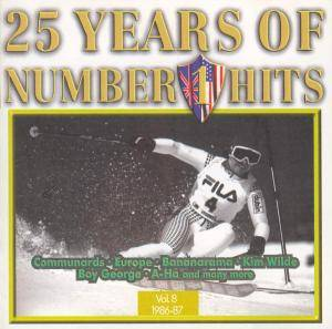 25 Years Of Number 1 Hits - Vol. 08 1986/1987 - Cover