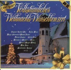 unser gro es volkst mliches weihnachts wunschkonzert 2 cd. Black Bedroom Furniture Sets. Home Design Ideas