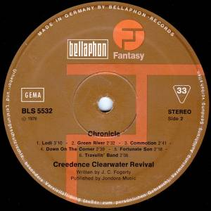 Creedence Clearwater Revival: Chronicle - The 20 Greatest Hits (2-LP) - Bild 7