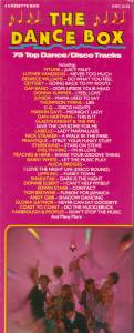 Cover - Limmie & The Family Cooking: Dance Box - 75 Top Dance / Disco Tracks, The