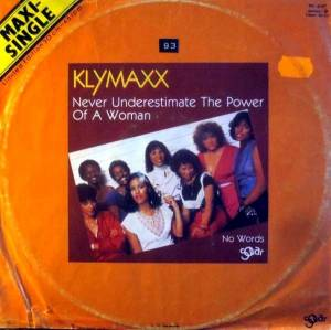 Cover - Klymaxx: Never Underestimate The Power Of A Woman