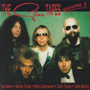Gillan: Gillan Tapes Volume 2, The - Cover