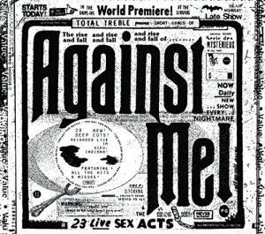 Against Me!: 23 Live Sex Acts - Cover