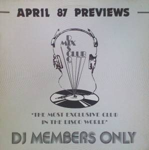 April 87 Previews - Cover