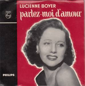 Cover - Lucienne Boyer: Parlez-Moi D'amour