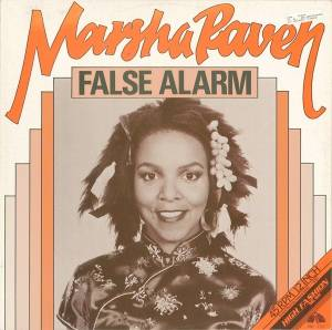 Marsha Raven: False Alarm - Cover