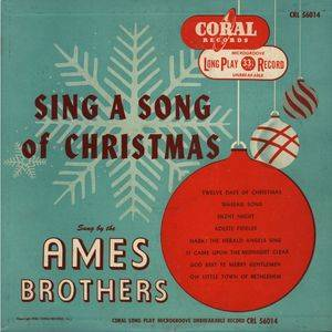 Cover - Ames Brothers, The: Sing A Song Of Christmas
