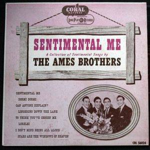 Cover - Ames Brothers, The: Sentimental Me