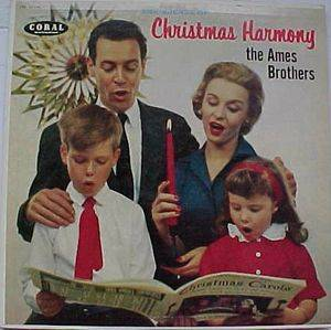 Cover - Ames Brothers, The: Christmas Harmony